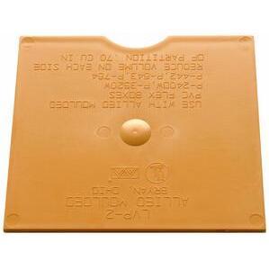 Allied Moulded LVP-2 Low Voltage Partition, Orange, Non-Metallic