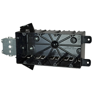 """Allied Moulded P-764HQT Switch/Outlet Box with Bracket, Depth: 3-1/4"""", 4-Gang, Non-Metallic"""