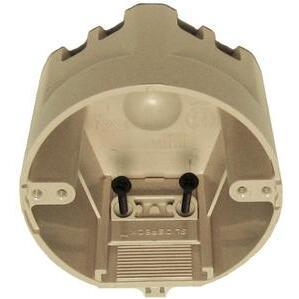 "Allied Moulded SB-CB Ceiling/Fixture Box, Diameter: 4"", Depth: 2-3/4"", Non-Metallic"