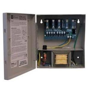 Altronix ALTV244UL Power Supply, CCTV, 115VAC In, 24/28VAC Out, NEMA 1, 4 Outlets