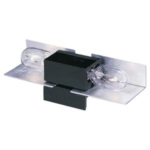 Ambiance Lighting 9428-12 In-Line Lampholder, Black
