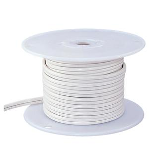 Ambiance Lighting 9469-15 10/2 Indoor Low Voltage Cable, White, 25'