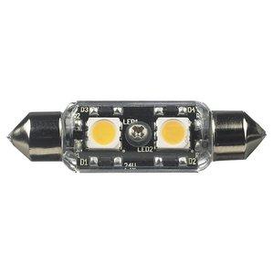 Ambiance Lighting 96118S-33 LED Frosted Festoon Lamp, 0.6W, 12V
