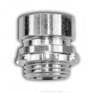 American Fittings Corp EC755US EMT Compression Connector, 2 inch, Steel, Concrete Tight