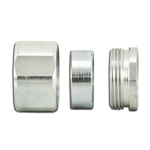 "American Fittings Corp ER75 3/4"" 3-Piece Steel Coupling"