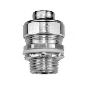 "American Fittings Corp STR75B Liquidtight Connector, 3/4"", Straight, Insulated, Steel"