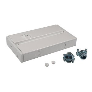 American Lighting ALC-BOX-WH Hardwire Junction Box, White