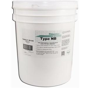 American Polywater NB-640 Silicone™ Cable Pulling Lubricant, Silicon Based - 5 Gallon Jug
