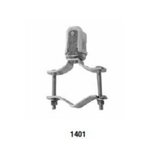 Appleton 1401 Wire Holder, Clamp Type, Porcelain, 1-1/4 to 2-1/2""