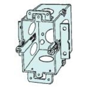 "Appleton 222-OW Switch Box, Gangable, 2-1/2"" Deep, Plaster Ears, Old Work Bracket"