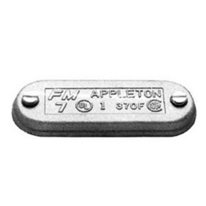 "Appleton 270FSA Conduit Body Cover, Form 7, 3/4"", Aluminum"