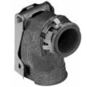 "Appleton 3890SLC MC/AC/Flex Connector, 90°, 3/8"", Insulated, Zinc Die Cast"