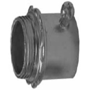 Appleton 4100S Set Screw Connector, 1 inch Steel