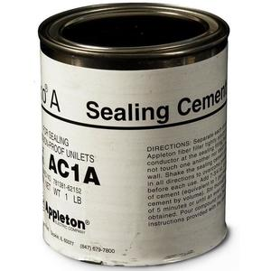Appleton AC1A Sealing Cement, 16 Ounce/1 LB Can