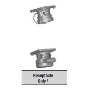 Appleton ADR3023RS Pin & Sleeve Receptacle, 30A, 3P2W, Reserve Service