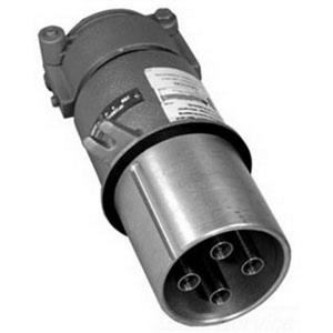 Appleton AP20034CD-RS Pin & Sleeve Plug, 200A, 600V, 4P3W, Style 2, Reverse Service