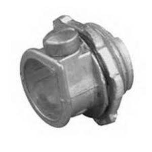 """Appleton C-500 NM Cable Connector, 3/8"""", 2-Screw, 14(2) to 12(2) AWG, Zinc Die Cast"""