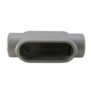 "Appleton C57 Conduit Body, Type: C, Size: 1-1/2"", Form 7, Malleable Iron"