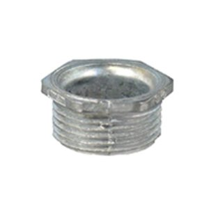 "Appleton CN-38 Chase Nipple, Size: 3/8"", Material: Zinc Die Cast"