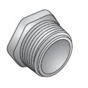 "Appleton CNN-600 Chase Nipple, 2"", Zinc Die Cast"