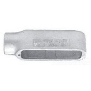 "Appleton E50-A Conduit Body, Type: E, Size: 1/2"", Form 85, Aluminum"