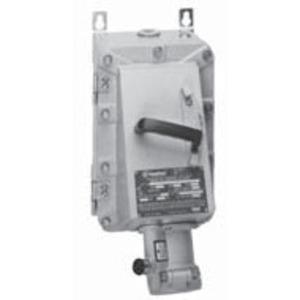 Appleton EBR15034FD15022 Circuit Breaker Receptacle, With 100A 600V 3-Pole FD Breaker