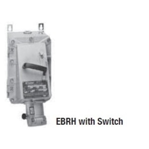 Appleton EBRH1034DS Explosionproof Receptacle w/Disconnect Switch, 100A, 4P3W