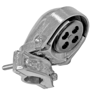"Appleton ECO-100 Service Entrance Cap, Type: Clamp-On, Size: 1/2"", Aluminum"