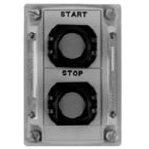 Appleton ED2KBU2 2-Circuit Universal Cover Assembly, Start/Green, Stop/Red