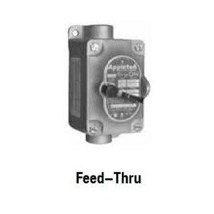 """Appleton EDSC175F1A Explosionproof Tumbler Switch, 1-Gang, 20A, 120/277V, 3/4"""" Hub, Alum."""
