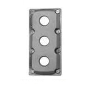 Appleton EDSKL3PB 3 Hole Cov For Contender Box