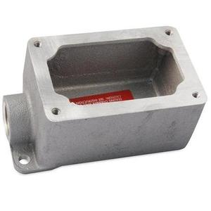 """Appleton EFD110-NL-Q Mounting Body,EFD TYPE,1"""",1-Gang,Dead-End, Malleable Iron"""