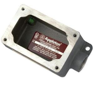 "Appleton EFD150A-NL-Q Mounting Body, EFD TYPE, 1/2"", 1-Gang, Dead-End, Aluminum"