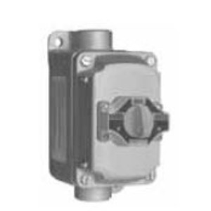 Appleton EFDB175102 Explosionproof Selector Switch, 3 Position, 2 Circuit, 10A