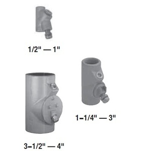 """Appleton EYD3 Sealing Fitting, Vertical, 1"""", Explosionproof, Malleable Iron"""