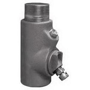 "Appleton EYDM-150AL Conduit Drain Seal, 1-1/2"", Male/Female, Vertical (25% Fill)"