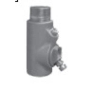 "Appleton EYDM-200AL Conduit Drain Seal, 2"", Male/Female, Vertical (25% Fill)"
