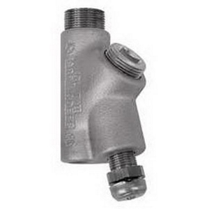 "Appleton EYDM-75AL Conduit Drain Seal, 3/4"", Male/Female, Vertical (25% Fill)"
