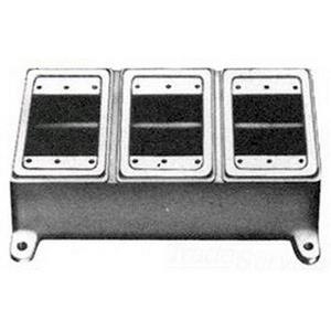 Appleton FD-3L 3gang Ridge Top Unilet