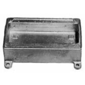 "Appleton FD-4GL FD Device Box, 4-Gang, Type: FD, 1/2"", Malleable Iron"