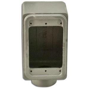 "Appleton FD175 FD Device Box, 1-Gang, Dead-End, Type: FD, 3/4"", Malleable Iron"