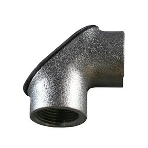 Appleton FFL-200 Pulling Elbow, 2 Inch, 90°, Gasketed, Female To Female, Malleable Iron