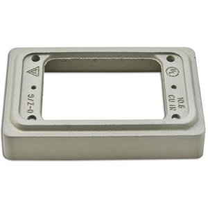 """Appleton FS-1EXT Device Box Extension, 1-Gang, 1"""", Malleable Iron"""