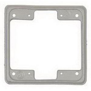 "Appleton FS-2EXT FS Device Box Extension, 2-Gang, Type FS, 1"", Aluminum"