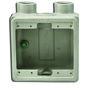 """Appleton FSS-2-75 FS Device Box, 2-Gang, Dead-End, Type FSS, 3/4"""", Malleable Iron"""