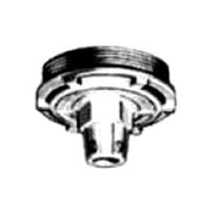 "Appleton GRK-75U Union Hub Fixture Cover, Type GRF, 3/4"" Hub, Malleable Iron"