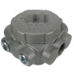 Appleton GRUJ-3P Conduit Outlet Box, Type GRUJ, Explosionproof, Dust-Ignitionproof