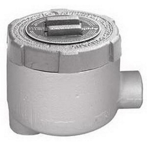 "Appleton GULB50 Conduit Outlet Box, Type GULB, (2) 1/2"" Hubs, Malleable"