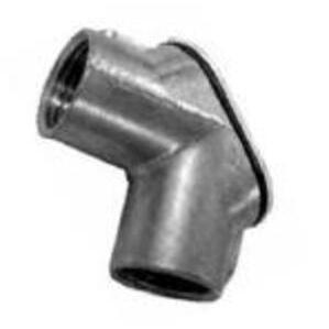 "Appleton HL-750 Pulling Elbow, Gasketed, Threaded, 3/4"", 90°, Zinc Die Cast"