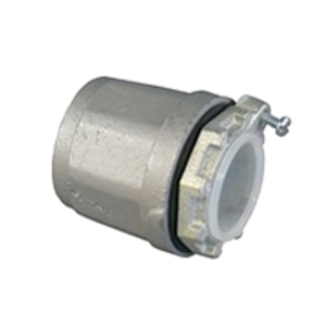 "Appleton HUB-150B Conduit Hub, Type: Bonding, Size: 1-1/2"", Insulated, Malleable Iron"